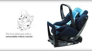 RECARO Zero.1 Elite (i-Size): The <b>2-in-1</b> child seat - YouTube