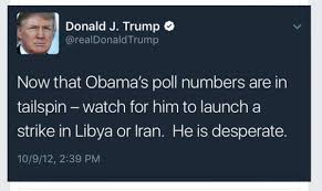 the 10th man irise4u2c twitter stay awake trump is an opportunist in his words a bomb strike would increase his poll s he d put others in harm s way to help him selfpic twitter com