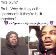 15 Funniest *Hits Blunt* Memes On The Internet | SoCawlege via Relatably.com