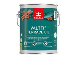 Масло Tikkurila Valtti <b>Terrace</b> Oil для <b>террас</b> бесцветное 2,7 л ...