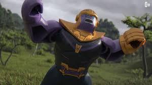 Танос аттакует Мстителей - LEGO Marvel Super Heroes - YouTube
