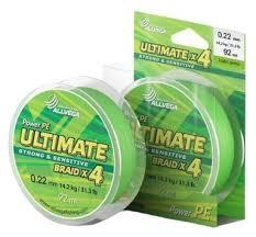 Купить Плетеный шнур <b>ALLVEGA ULTIMATE</b> light green 0.22 мм ...