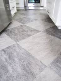 Kitchens Floor Tiles Make A Statement With Large Floor Tiles