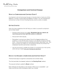 Compare and Contrast Essay Writing Compare and Contrast Essay Topics