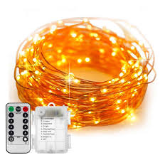 <b>10M 100LED</b> Halloween String Lights Black Wire Orange Purple ...