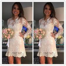 Длинный рукав выше колена, <b>мини-платье</b> свадебные платья ...