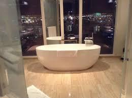 bathroom suite mandarin: mandarin oriental las vegas bathtub in cityscape suite