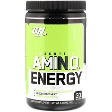Optimum Nutrition, <b>Essential Amin.O</b>. <b>Energy</b>, <b>Green</b> Apple, 9.5 oz ...