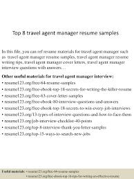 toptravelagentmanagerresumesamples lva app thumbnail jpg cb