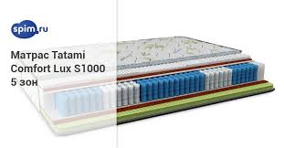 <b>Матрас Tatami COMFORT</b> LUX S1000 5 ЗОН — купить матрас ...
