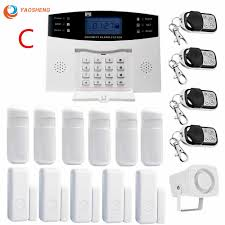 <b>433Mhz</b> Wireless Home GSM Security Alarm System <b>IOS Android</b> ...