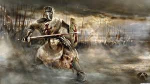 Image result for knight battlefield painting