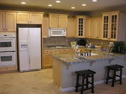 kitchen picture having only general lighting ambient kitchen lighting