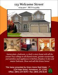 open house designs real estate flyers booklets postcards and sample designs