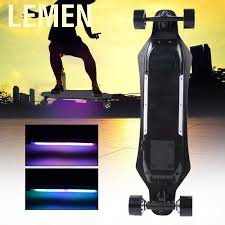 Lemen <b>Electric</b> Skateboard High Performance Wireless <b>Remote</b> ...