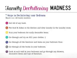 Decluttering Madness Week  Bedrooms Organize - Decluttering your bedroom