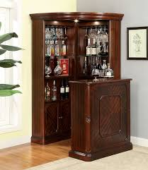 dining room bar furniture of fine voltaire traditional style curio corner cabinet bar trend bar corner furniture