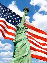 Image result for american flag with statue of liberty