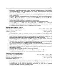 resume military resume