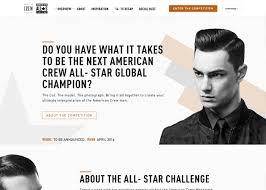 <b>American Crew</b> - <b>All</b> Star Challenge - Awwwards Nominee