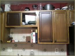 gel stain kitchen cabinets: staining honey oak kitchen cabinets best