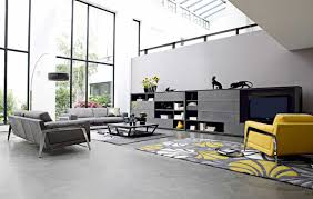 living room sofa ideas: big space living room color adeas with grey sofa living room ideas and yellow living room