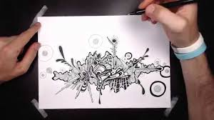HOW TO DRAW <b>abstract Graffiti</b> style! - YouTube