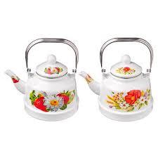 <b>Чайник эмалированный 2</b>,5 <b>л</b> Полянка (894-405) купить оптом по ...