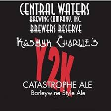 Image result for CENTRAL WATERS KOSMYK CHARLIE'S Y2K BARLEYWINE