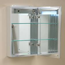 dwell bathroom cabinet: brilliant aluminum medicine cabinet with lighted mirror bathroom