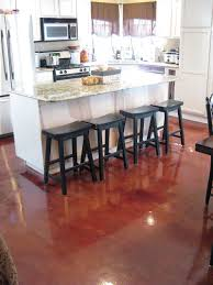 Concrete Floor Kitchen 17 Best Images About House On Pinterest House Plans Stained