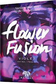 Amazon.com : <b>Origins Flower Fusion Violet</b> Nourishing Sheet Mask ...
