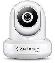 Amcrest 1080P <b>WiFi</b> Security <b>Camera 2MP</b> (1920TVL) Indoor Pan ...