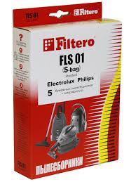 Мешки-<b>пылесборники Filtero FLS</b> 01 (S-bag) Standard, 5 шт. + ...