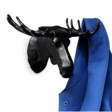 Купить <b>Вешалка Moose черная</b> оптом в Москве - FineDesign