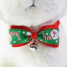 1 Pieces Cute <b>Christmas Pet Supplies</b> Handmade Ribbon <b>Dog Bow</b> ...