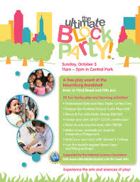 able information the ultimate block party s blog ubp flyer