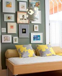 yellow and gray bedroom: gray and yellow pillows view full size