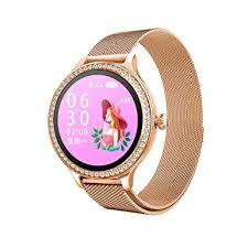 CZYCO Female-Only Luxury Leather Strap <b>M8 Smart Watch Women</b> ...