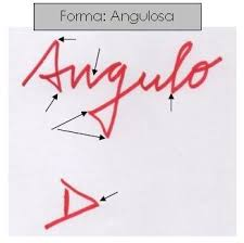 Resultat d'imatges de escritura angulosa