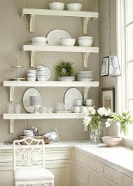 white kitchen windowed partition wall:  furniture wall mounted kitchen shelves with windows design