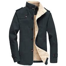 FTIMILD <b>Men's</b> Winter <b>Jackets Fleece</b> Warm <b>Coats</b> Sherpa Lined ...