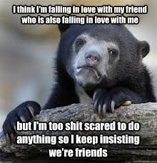I think I'm falling in love with my friend who is also falling in ... via Relatably.com