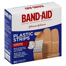 <b>Adhesive Bandages Plastic</b> Strips One Size delivery | Cornershop