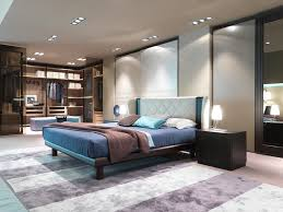 image of contemporary modern bedroom furniture blue white contemporary bedroom interior modern