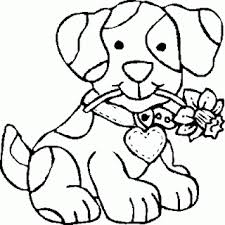 Small Picture Cute Dog Coloring Pages Puppy dog party Pinterest Dog