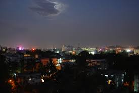 photo essay pune student chronicle pune night sky