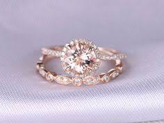 7mm Round Moissanite Engagement Ring Diamond Wedding Ring ...