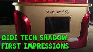 <b>QIDI TECH</b> Shadow 5.5S Resin Printer! First Impressions! - YouTube