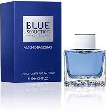 <b>Antonio Banderas Blue</b> Seduction Eau De Toilette Spray 3.4 Oz/ 100 ...
